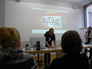 Vortrag in der Hansaschule